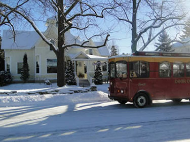 Door County Bed and Breakfast offering Door County Trolley Adventure Package